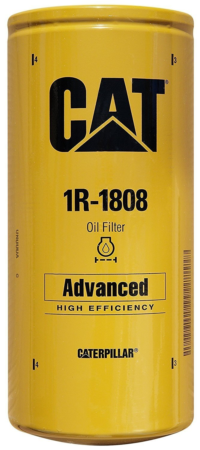 Caterpillar 1R1808 1R-1808 Engine Oil Filter Advanced High Efficiency Multipack (Pack of 5) by Caterpillar