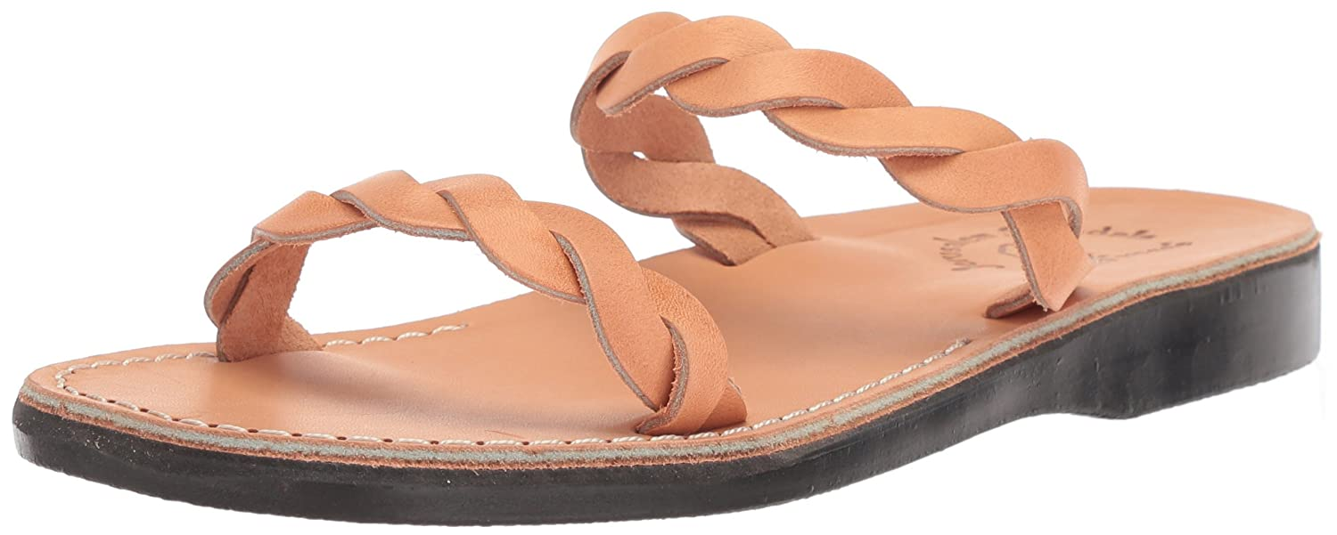 Jerusalem Sandals Women's Joanna Slide Sandal B075KZ5VCK 40 Medium EU (9-9.5 US)|Tan