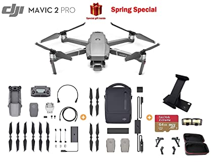 aaabb5a2060 DJI Mavic 2 Pro Drone Quadcopter with Hasselblad Camera HDR Video UAV with  Fly More Kit. Roll over image to ...