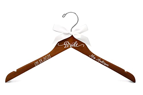 Personalised Wedding Hanger Decal Sticker Self-Adhesive Vinyl Sticker Hanger Sticker Wedding Hanger Sticker Bridal Hanger Decal