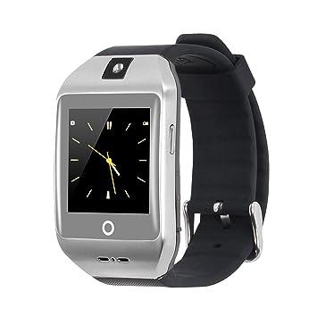 VOSMEP 2016 Smartwatch Reloj Inteligente con Bluetooth 4.0 Muñeca Inteligente Pulsera Deporte con Cámara Pantalla Táctil para Apple/iOS, Samsung ...