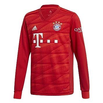 46776d62347d6 Amazon.com : adidas 2019-2020 Bayern Munich Home Long Sleeve ...