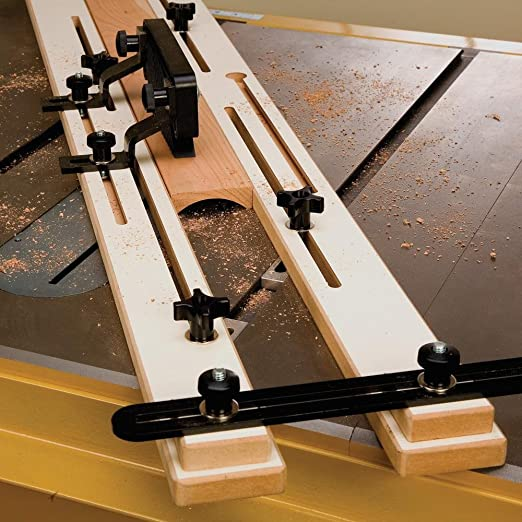 Rockler Cove mesa de corte Saw Jig por Rockler: Amazon.es ...