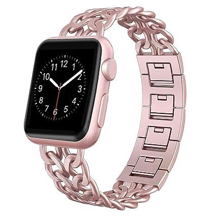Amazon.com: Aokay - Correa para reloj Apple Watch Series 3 ...