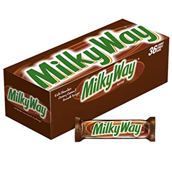 Amazon Com Milky Way Milk Chocolate Singles Size Candy Bars 1 84