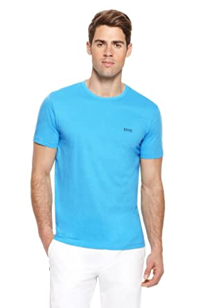8566b591a4e Hugo Boss T Shirt Mens Size S M L XL XXL XXXL Green Label Fit Large Modern  New Bnwt Blue Short Sleeve (XXL)  Amazon.co.uk  Clothing