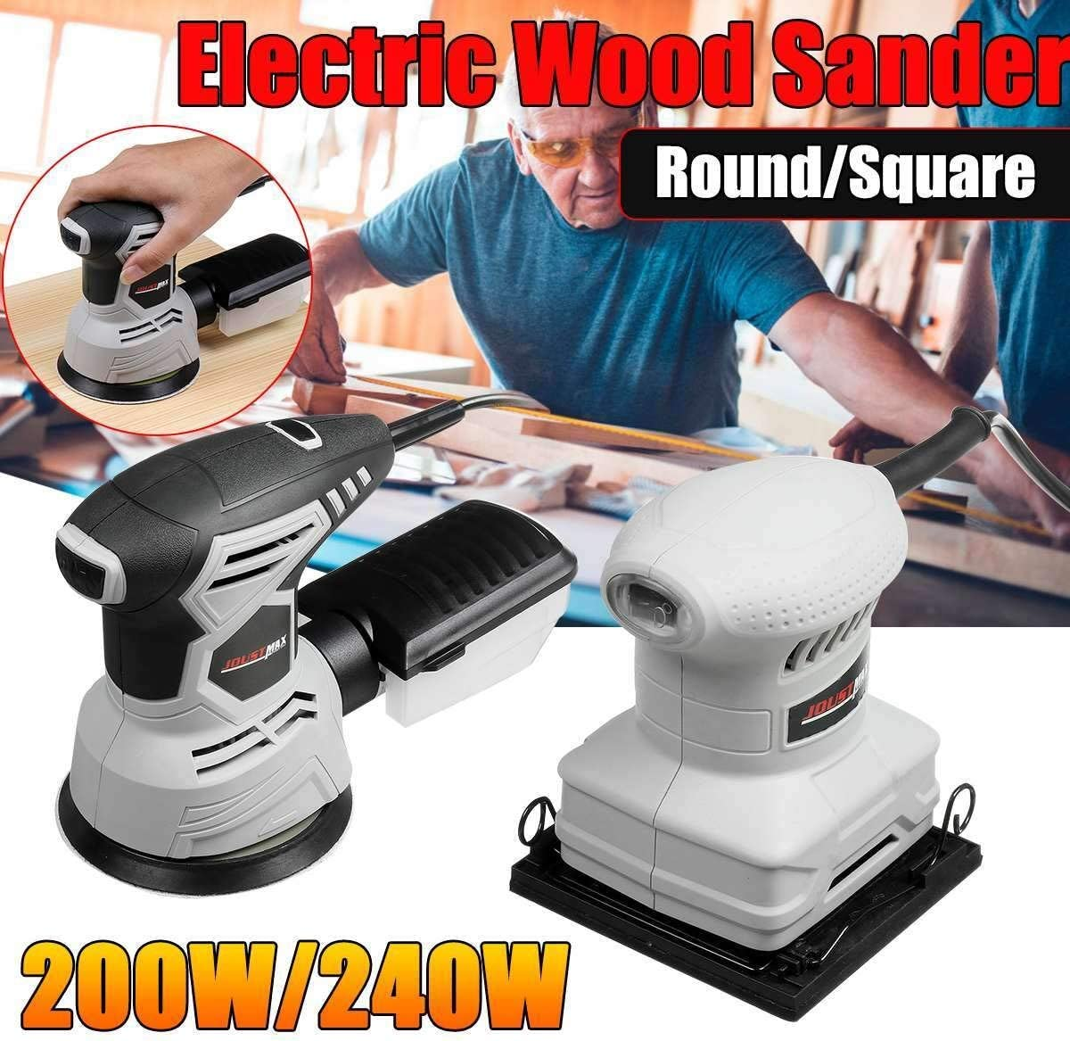 Electric Sander Including For Furniture Finishing,220V Wood Electric Sander Carpentry Tool Furniture Metal Polishing Sande Sanders With Dust Collection Detail Sander Compact Sander Machine For Wood