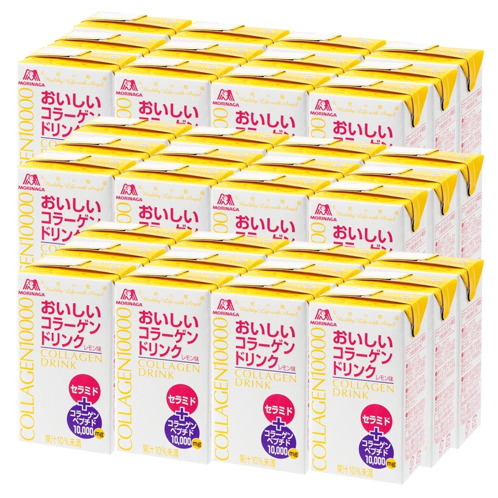 森永製菓 おいしいコラーゲンドリンク 125ml×36本 約36日分 レモン味 B01LWJGSWU