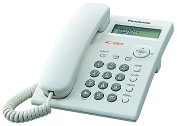 Beautiful Panasonic KX TSC11W Corded Phone With Caller ID, White