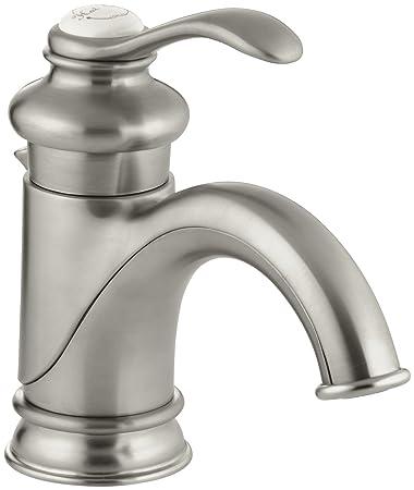 KOHLER K-12182-BN Fairfax Single Control Lavatory Faucet, Vibrant ...