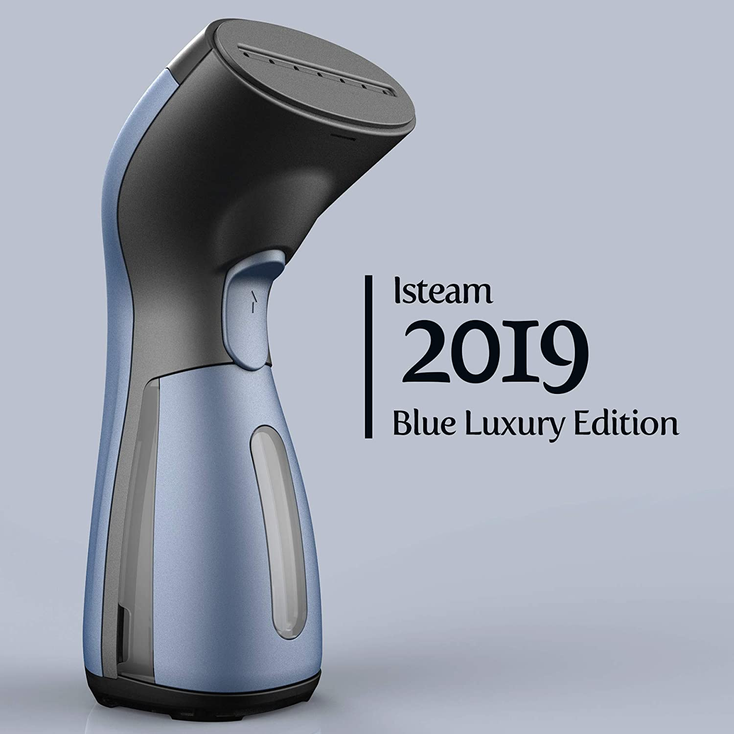 Luxury Edition Steamer Technology [2019] 8-in-1 Powerful: Clothes Wrinkle Remover- Clean- Sterilize- Sanitize- Refresh- Treat- Defrost. for Garment/Home/Kitchen/Bathroom/Car/Face/Travel [Blue]