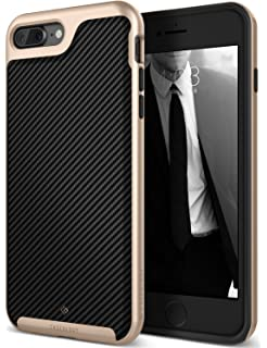 iphone 7 plus jet black box. caseology envoy series iphone 7 plus / 8 cover case with leather slim protective for iphone jet black box