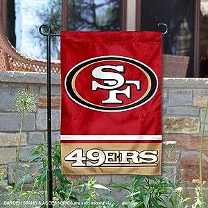 WinCraft San Francisco 49ers Double Sided Garden Flag