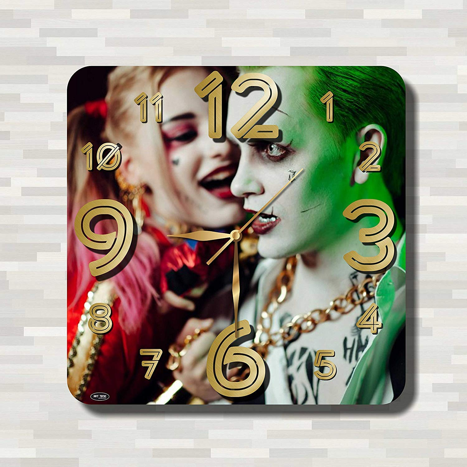 Amazon Com Art Time Design Studio Harley Quinn With Joker