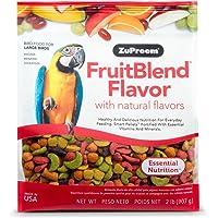 ZuPreem ZP84020 Fruitblend Large Parrot Food, 2-Pound