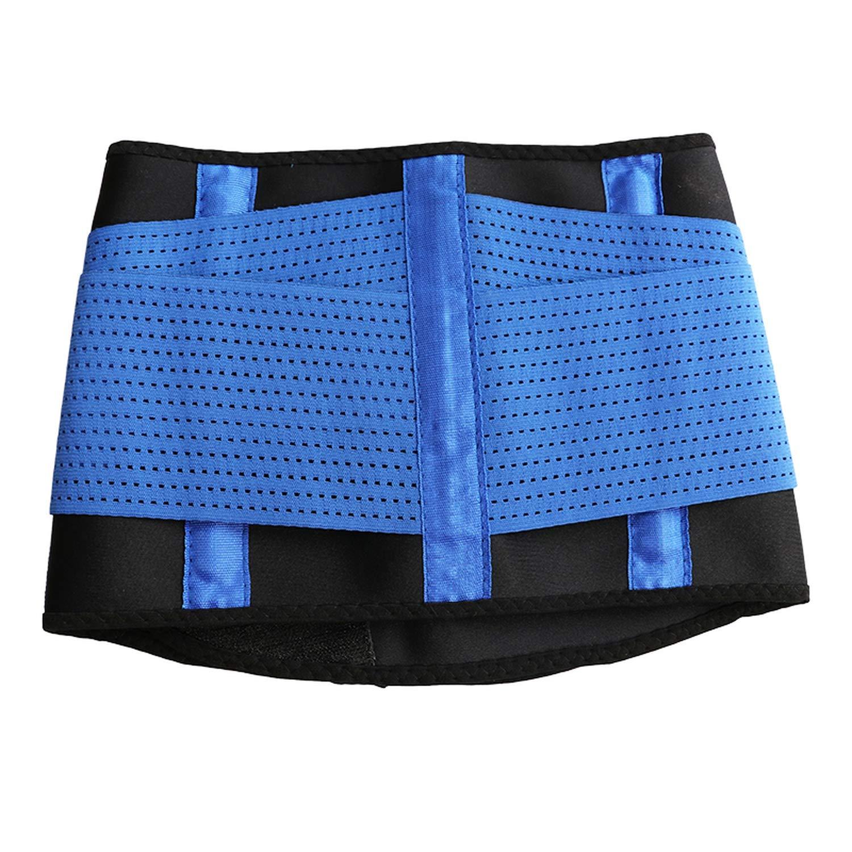 Waist Trainer Cincher Man Women Body Shaper Girdle Belt Underbust Control Corset,Green,S