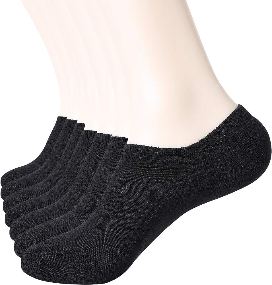 WANDER Cushion No Show Socks Mens 7