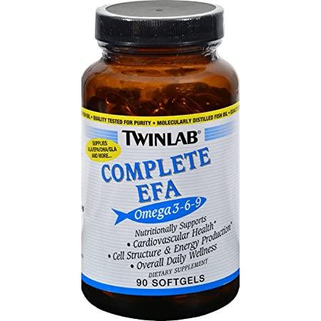 Amazon.com: Twinlab Complete EFA - 90 Softgels - Supports Cardiovascular Health - Support optimal health and maintain cell structure: Health & Personal Care