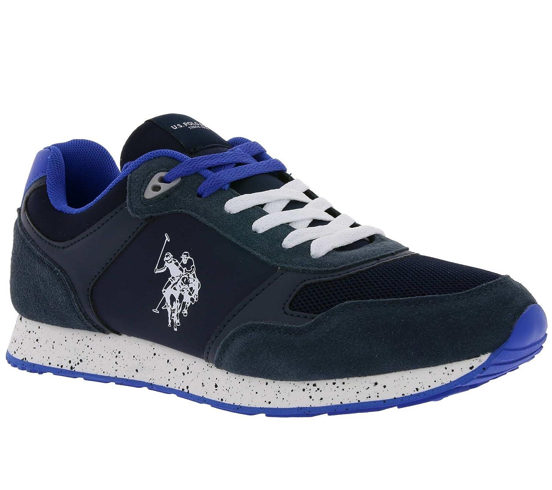 U.S. Polo Assn. FLASH4060S8/LT1 Sneakers Hombre 43 EU|Azul