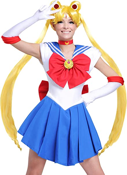 Fun Costumes Sailor Moon Wig