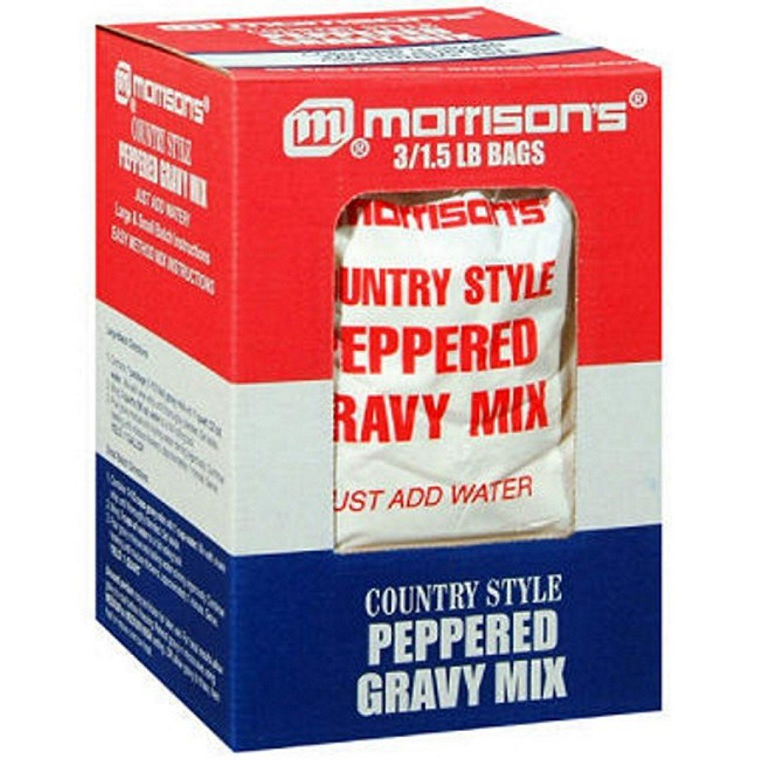 Morrison's Country Style Gravy Mix - 3/1.5 lb