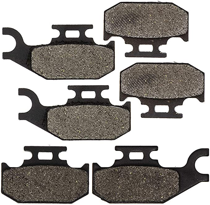 8TEN Semi-Metallic Complete Brake Pad Kit 2003-2015 Can-Am Outlander 330 400 500 650 800 800R Max 705600014 705600349