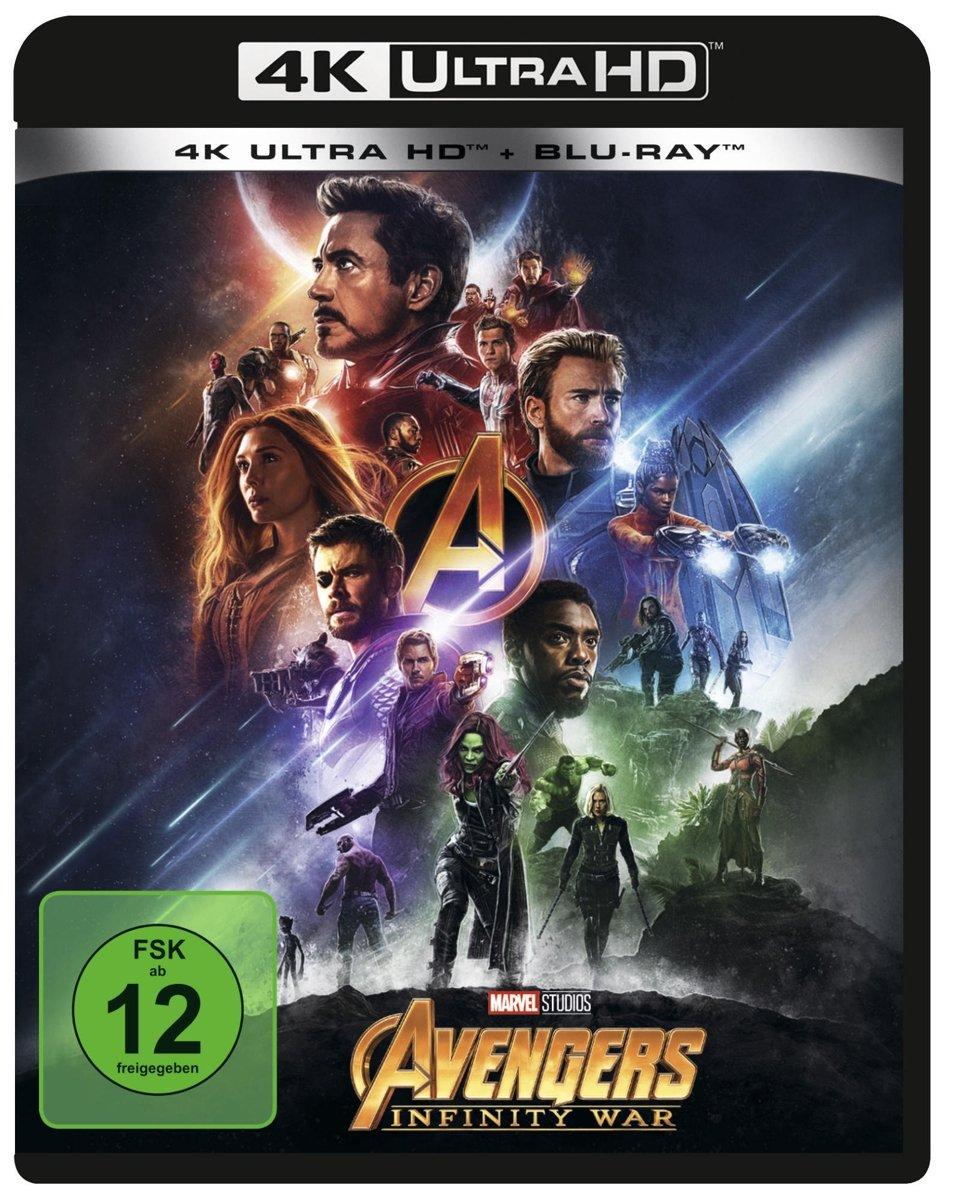 Marvels The Avengers - Infinity War 4K Ultra HD + Blu-ray 2D Alemania Blu-ray: Amazon.es: Evans, Chris, Downey, Robert Jr., Johansson, Scarlett, Hemsworth, Chris, Ruffalo, Mark, Olsen, Elizabeth, Cheadle, Don, Brolin, Josh,