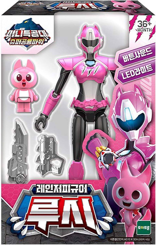 MINI FORCE Super Dinosaur Power Ranger Figure (Lucy)