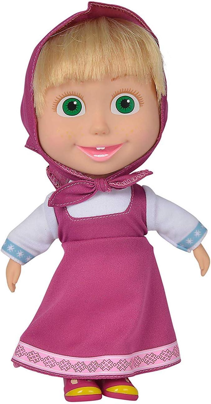 Masha and Bear Masha Doll Pink Dress