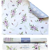 Scented Drawer Liners for Dresser 8 Sheets | Cabinet Liners for Shelves | Double-Sided Pattern Shelf Paper | Non…