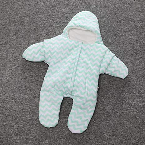 ZLMI Bebé Recién Nacido Bolsa De Dormir Pequeñas Estrellas De Dormir Bolsa De Sueño Acolchado Bebé