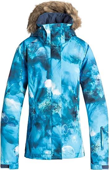 Roxy Jetty Veste de Snow Femme XS Bleu: Roxy: Amazon