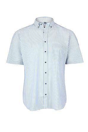 buy online 5e9cc b1487 eterna Kurzarm Hemd Comfort FIT mit Button Down Kragen aus ...