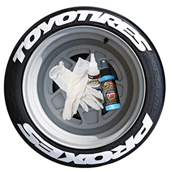 toyo tires proxes super stretched white permanent tire lettering kit 4 of each word