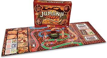 Copy of SPIN MASTER - JUMANJI - IN Legno MASSICCIO - Italiano: Amazon.es: Juguetes y juegos