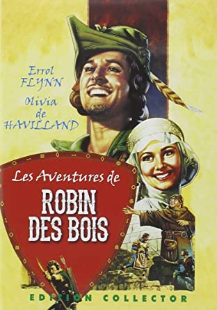Les Aventures De Robin Des Bois édition Collector 2 Dvd Errol Flynn Olivia De Havilland Basil Rathbone Claude Rains Patric Knowles Michael Curtiz Movies Tv
