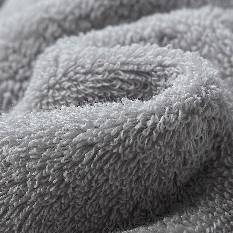 Cotton Towel Set Solid Color Large Thick Bath Towel Bathroom Hand Face Shower Towels,Classic White,1pcs 33x33cm