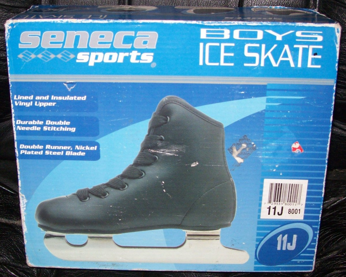 Seneca Sports Boys Double Runner Ice Skates Size 11J by Seneca Sports