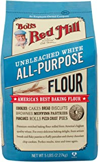 product image for Bob's Red Mill, White Unbleached Flour, 5 lb
