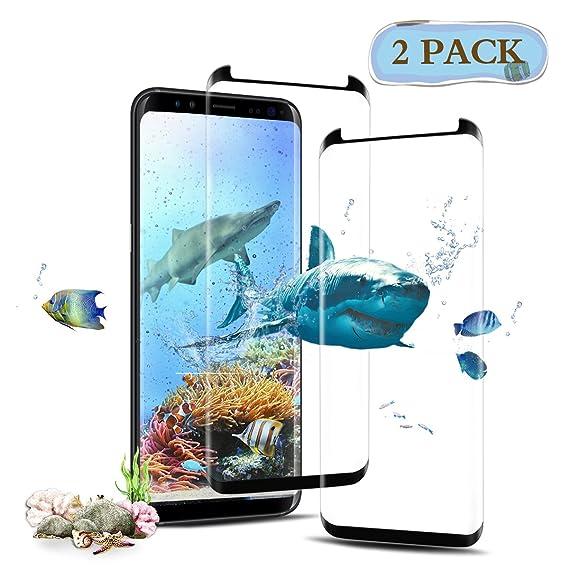Amazon Com Tengsu Screen Protector For Galaxy S8 2 Pack Care