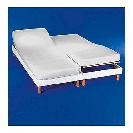Sábana bajera ajustable para camas dobles articuladas 160 x 190/200.