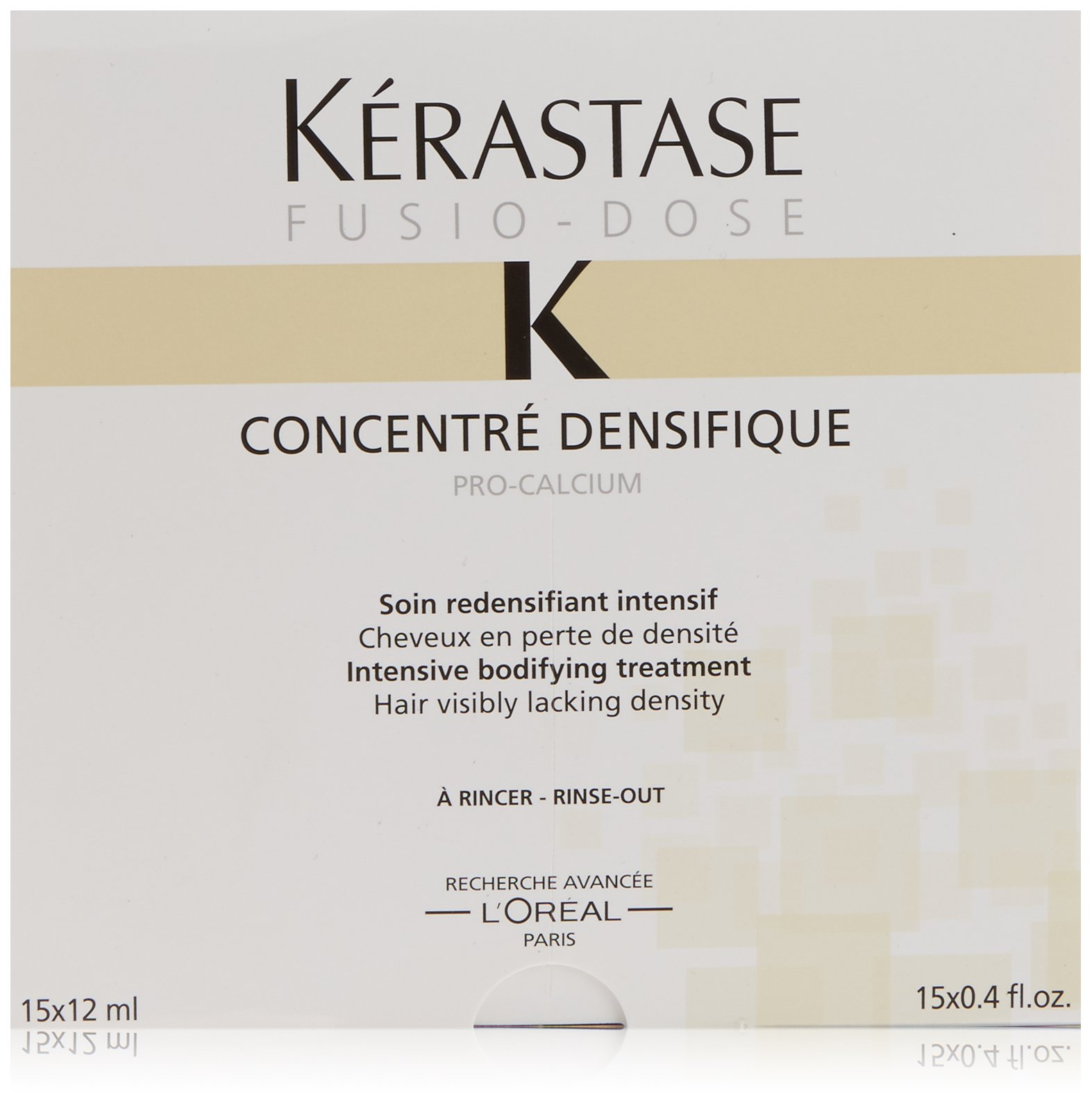 Kerastase Fusio-Dose Concentre Densifique Intensive Bodifying Treatment, 15 Count by Kerastase (Image #1)