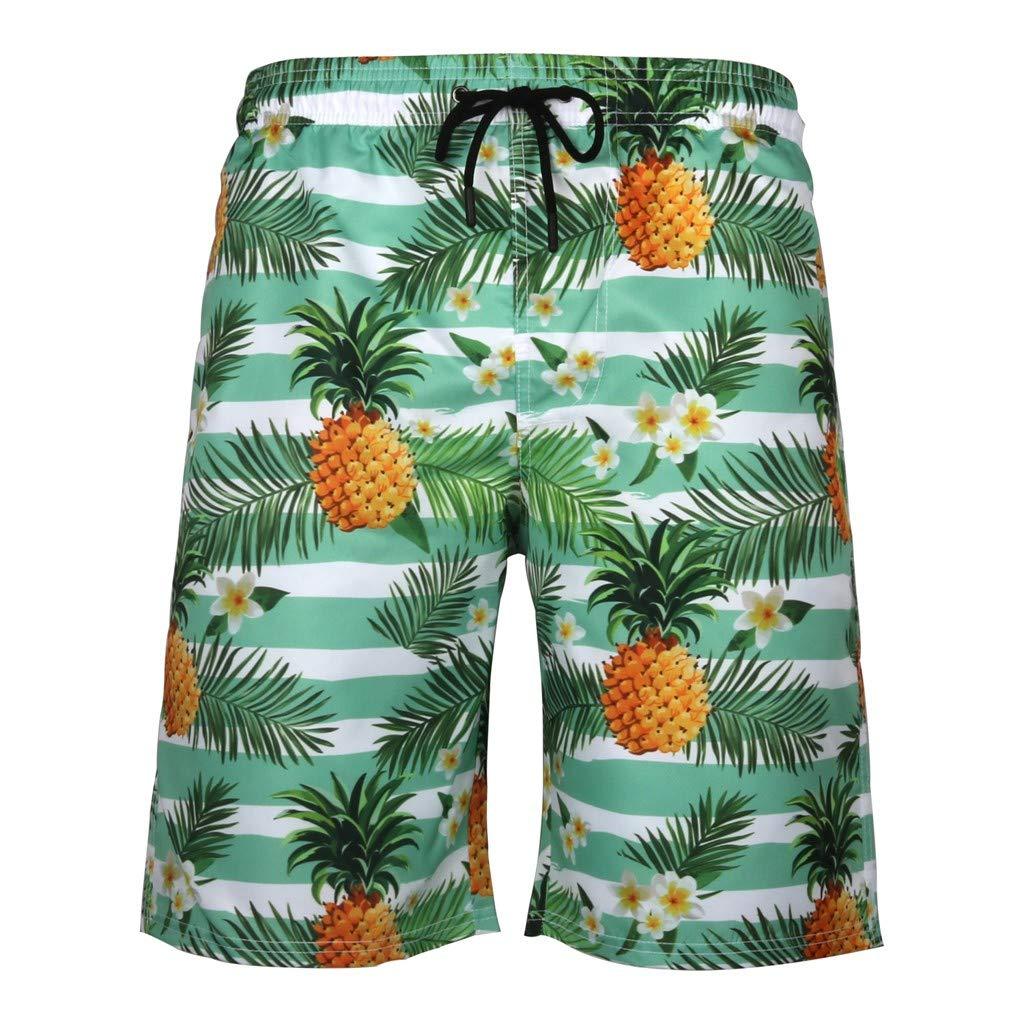 Zoilmxmen Mens Summer Swim Trunks 3D Print Graphic Casual Athletic Beach Short Pants