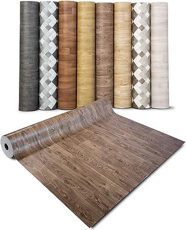Sol PVC Rouleau Antid/érapant /& 100/% /Écologique Stickers Effet Bois casa pura Rev/êtement Sol PVC Aspect Noyer - 100x700 cm Film Vinyle Pour Meuble /& Sol