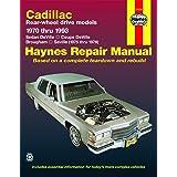 Cadillac RWD petrol DeVille/Coupe/Sedan DeVille (1970-1985), Brougham (1970-1993