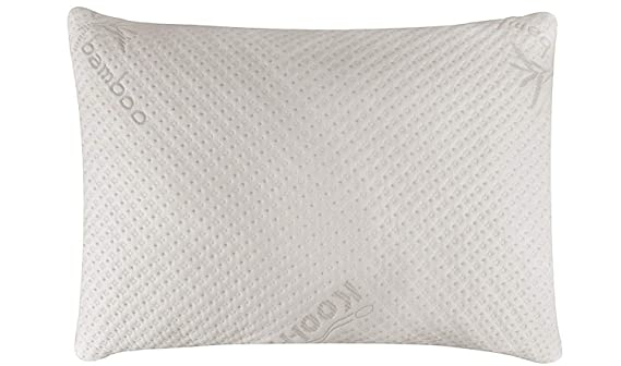 The Snuggle-Pedic Ultra-Luxury Bamboo Shredded Memory Foam Pillow travel product recommended by Jennie Katz on Lifney.