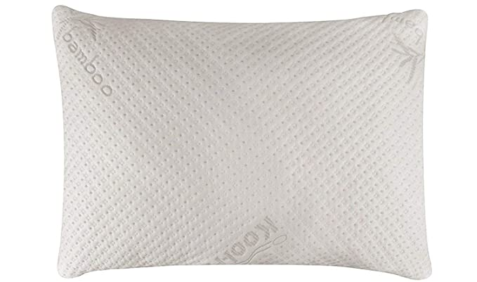 Snuggle-Pedic Bamboo Memory Foam Pillow - Perfect Firmness and Comfortable