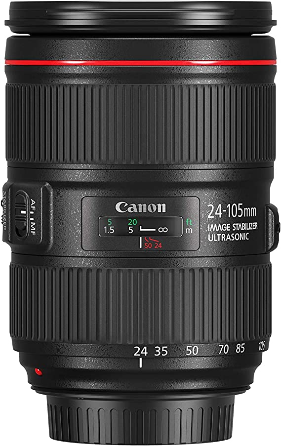 Canon Zoomobjektiv Ef 24 105mm F4l Is Ii Usm Für Eos Kamera