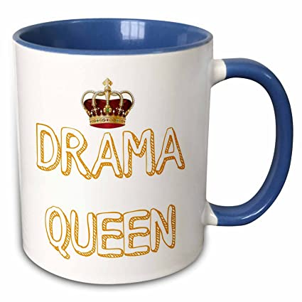 Amazon.com: 3dRose Xander funny quotes - Drama Queen with a ...