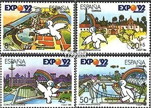 Prophila Collection España Michel.-No..: 2929-2932 (Completa.edición.) 1990 Expo `92 (Sellos para los coleccionistas): Amazon.es: Juguetes y juegos